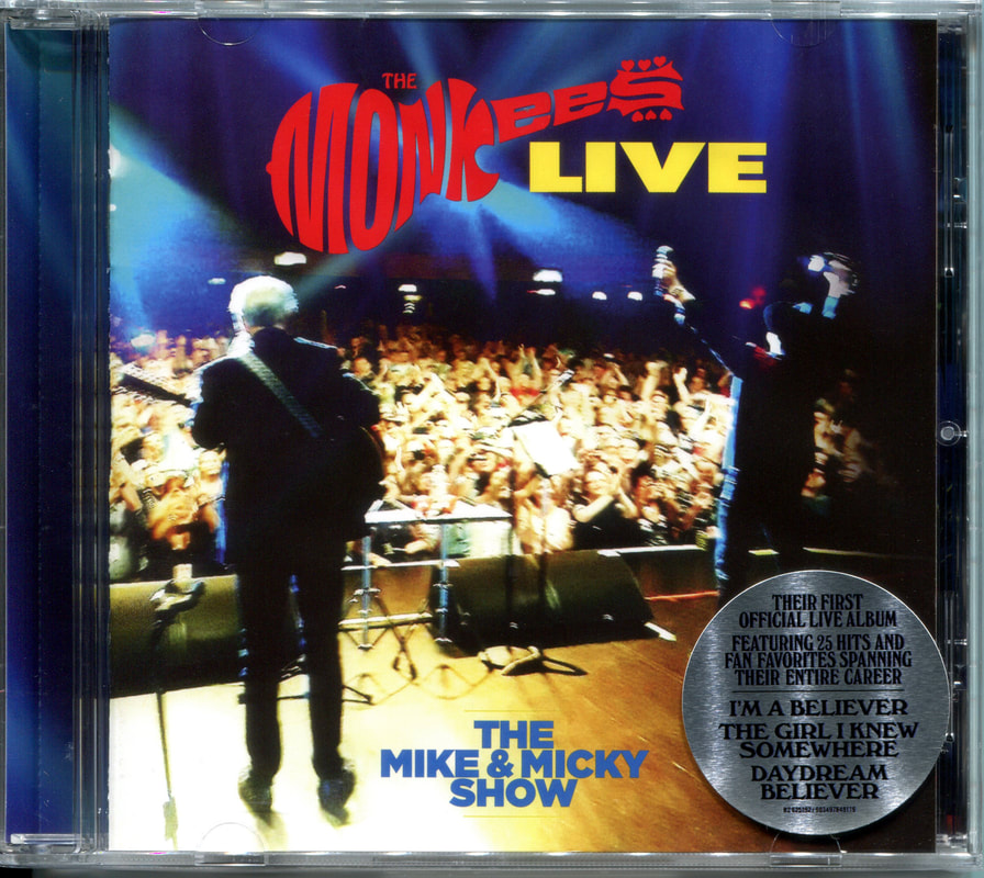 Monkees Live Mike & Micky Show compact disc