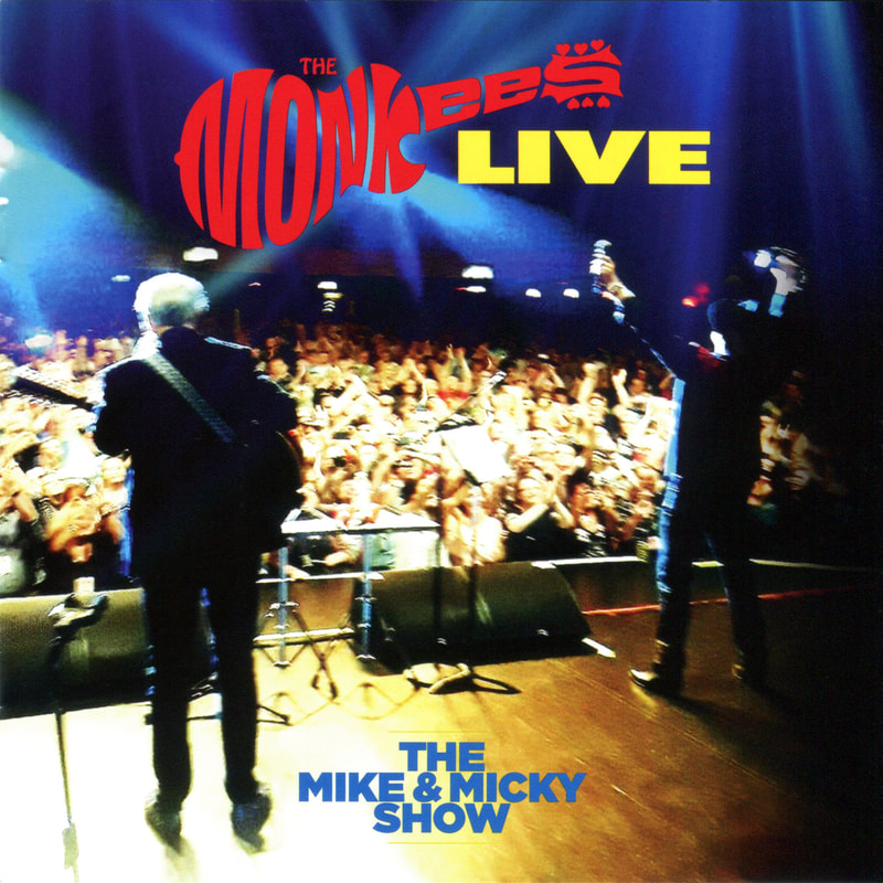Monkees Live The Mike & Micky Show CD