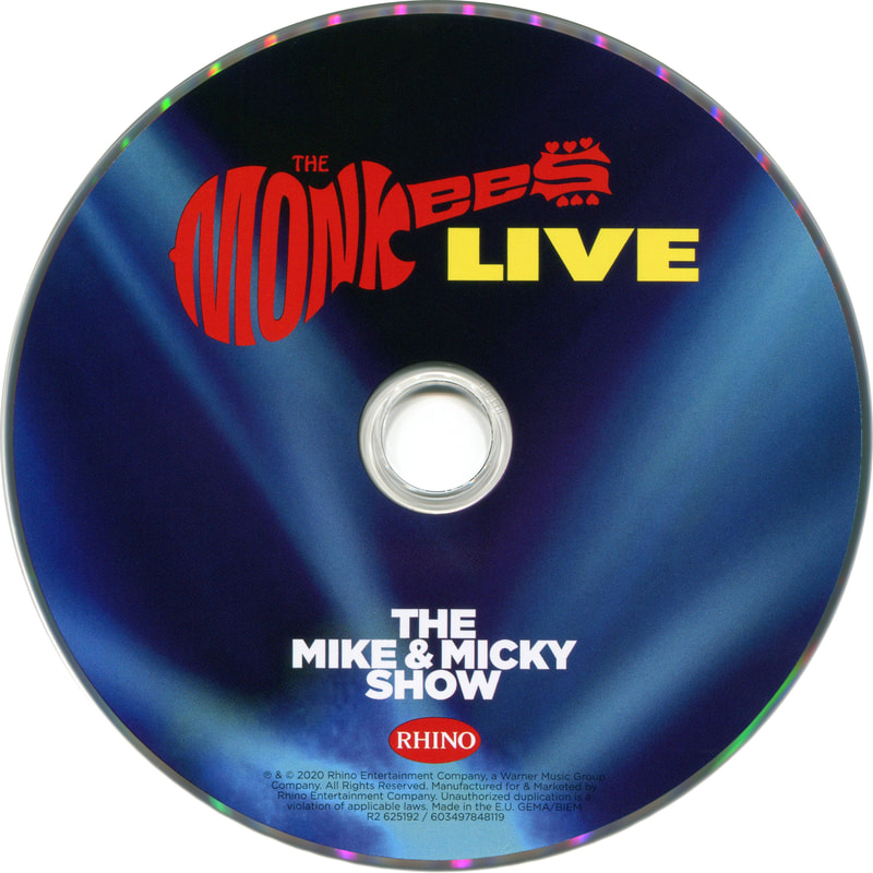 Monkees Live Mike and Micky Show CD