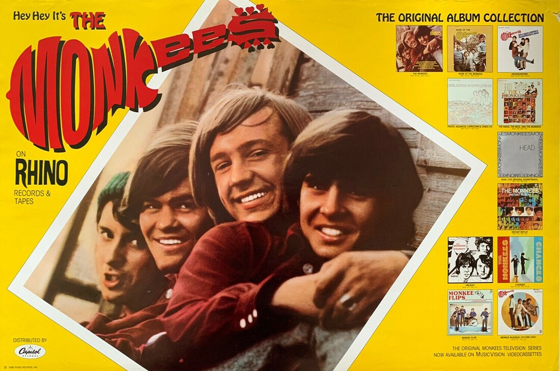 Monkees Rhino poster