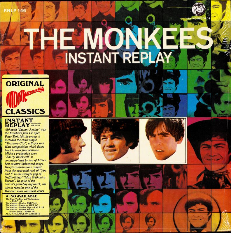 Monkees Instant Replay Rhino sticker