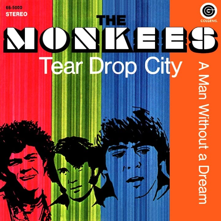 Monkees Tear Drop City picture sleeve