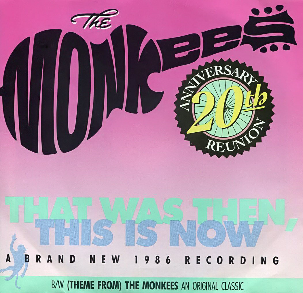 Monkees That Was Then picture sleeve