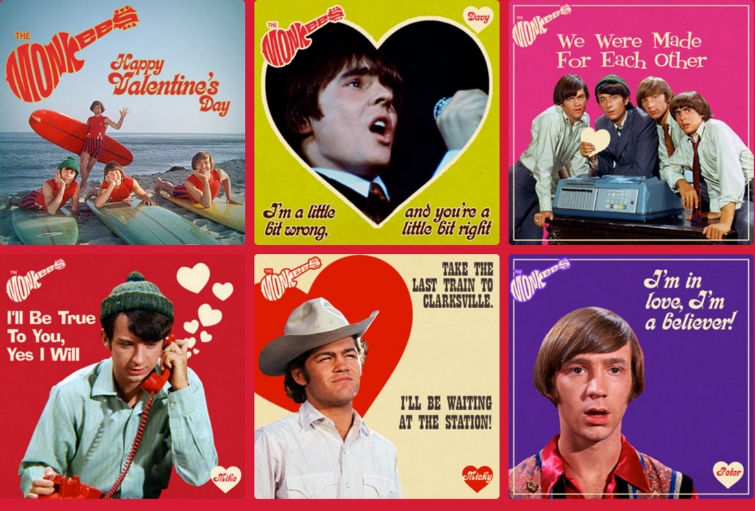 Monkees Valentine's Day