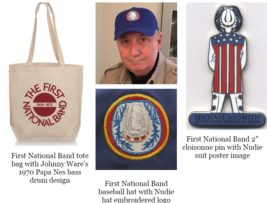 Nesmith First National Band tour merchandise