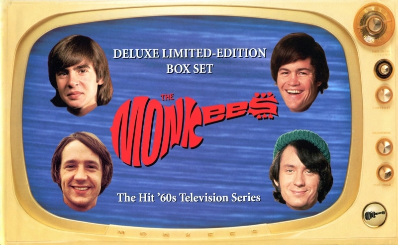 Monkees VHS box