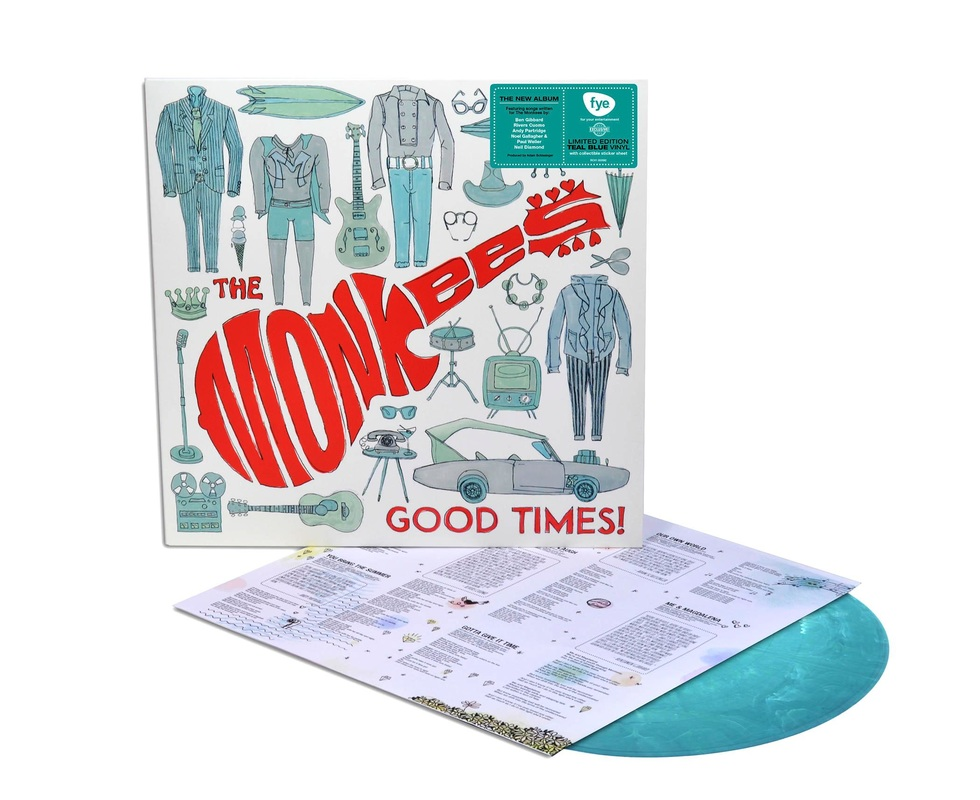 Monkees Good Times teal vinyl